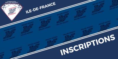 IDF - inscriptions